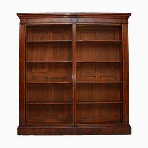 Antikes offenes William IV Bücherregal