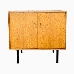Mid-Century Storage Cabinet on Metal Legs, 1950s or 1960s