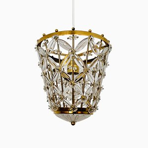 Brass Pendant Lamp from Palwa, 1960s