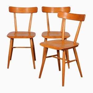 Vintage Chairs from Ton, 1960s, Set of 3