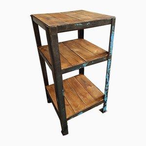 Industrial Shelving Rack or Side Table
