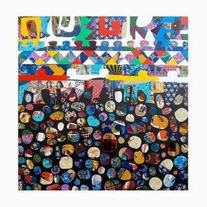 Beauty in Diversity I, Mixed Media Canvas by Eghosa Raymond Akenbor, 2020