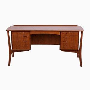 Mid-Century Schreibtisch aus Teak von Svend Åge Madsen für HP Hansen, 1960er