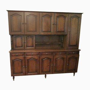 Mueble de cocina vintage grande de roble
