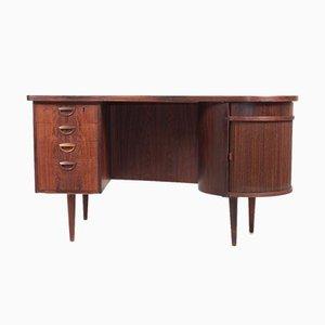 Mid-Century Danish Rosewood Desk by Kai Kristiansen for FM Møbler, 1950s