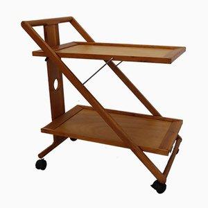 Carrito de madera, años 60