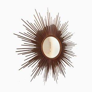 Espejo Sun de Gilbert Poillerat para Chaty Vallauris, años 60
