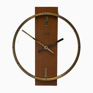 Reloj de pared alemán vintage de Kienzle