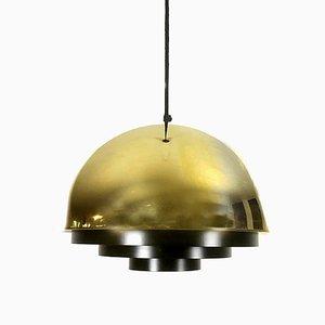 Golden Line Gold Milieu Hängelampe von Jo Hammerborg für Fog & Mørup, 1970er