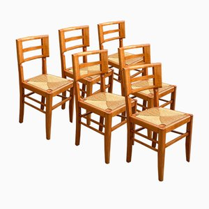 Chairs by Pierre Cruège, Set of 6
