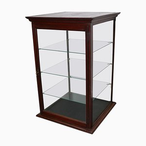 Victorian Mahogany Museum / Shop Display Cabinet or Vitrine, Late 19th Century