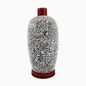 Large Art Deco Lidded Jar in Glazed Ceramics by Paul Milet for Sevres, France