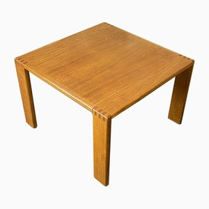 Oak Coffee Table by Esko Pajamies for Asko, Finland, 1970s