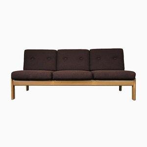 Danish Oak Sofa Daybed, 1960s