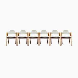 Teak Dining Chair by Kai Kristiansen for Sva Møbler, Denmark, Set of 6