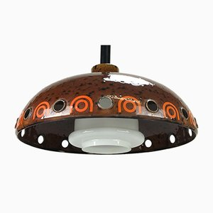 Ceiling Lamp from Hust Town, 1970s