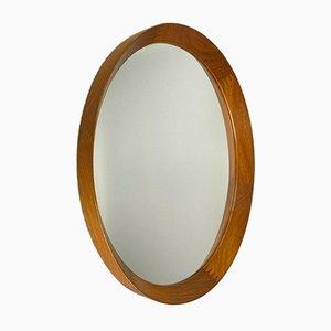 Teak Wall Mirror from Pedersen & Hansen Viby J. 1960s