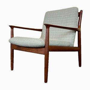 Danish Teak Easy Chair by Grete Jalk for Glostrup, 1960s
