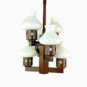 Dänische Deckenlampe, 1970er