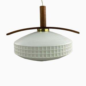 Teak Hanging Lamp from Temde, 1960s