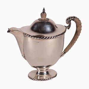Silberne Teekanne