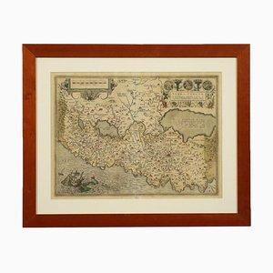 Abraham Ortelius, Hand Watered Etching