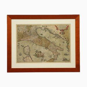 Abraham Ortelius, handgewässerte Radierung