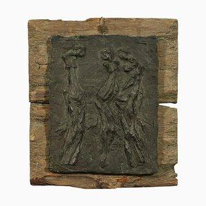 Bassorilievo di Virginio Ciminaghi, bronzo