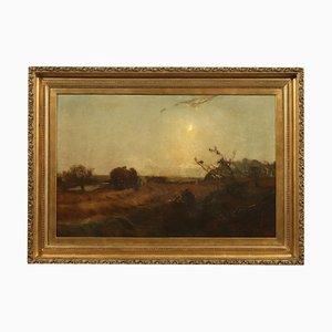 Arthur A. Friedenson, óleo sobre lienzo