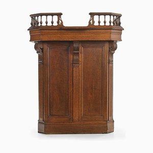 Mueble comercial de madera estilo Henry II