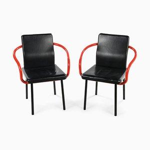 The Mandarin of Ettore Sottsass Armchairs, Set of 2