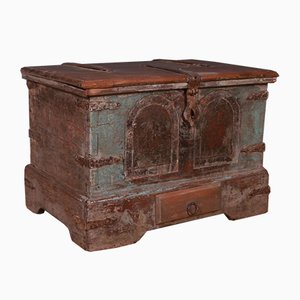 Anglo-Indian Painted Coffer, 1890s