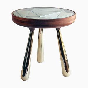 Kaleidoscope Side Table by André Teoman Studio