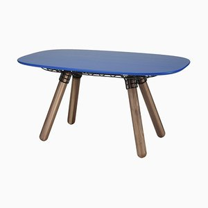 Sculptural Magnum Dinner Table by Pierre Favresse