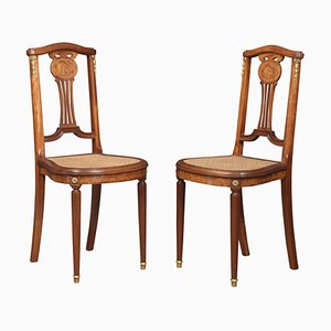 Bergere Side Chairs, Set of 2