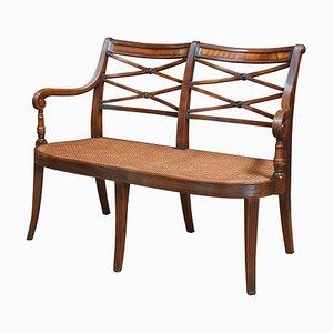 Regency Stil Sofa aus Mahagoni