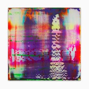Neon-I, Pintura abstracta, 2020