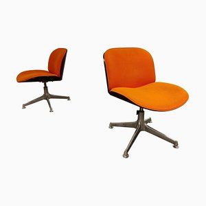 Mid-Century Swivel Chairs by Ico Parisi for MIM, Italy, 1960s, Set of 2