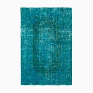 Türkiser Überfärbter Teppich