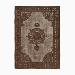 Brown Over Dyed Rug