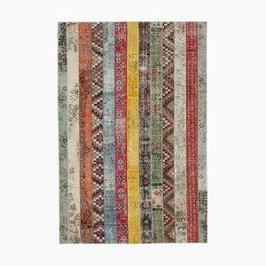 Tappeto patchwork multicolore