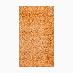 Orange Überfärbter Teppich
