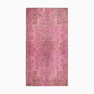 Tappeto sovratinto rosa