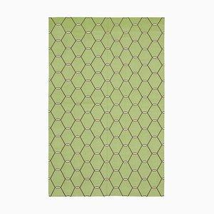 Green Dhurrie Rug
