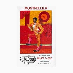 Expo 77 Musée Fabre Posté Montpellier di Albert Duboit