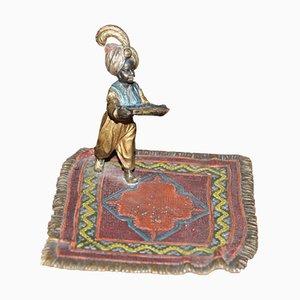 Vienna Bronze Little Arapchonok from Workshop Bermann, Beginning of the 20th Century