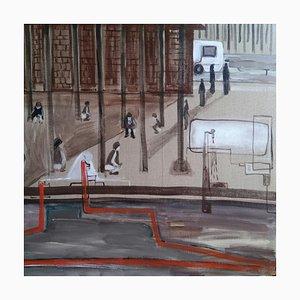 Arte contemporanea cinese, Ma Wei-Hong, Interessante esperienza di viaggio a luglio, 2017