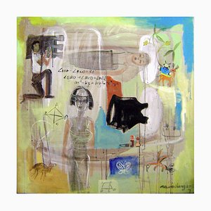 Arte cinese contemporanea, Ma Wei-Hong, Silence Cannot Be Dispelled, 2015
