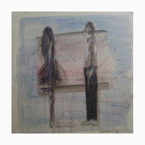 Arte contemporanea cinese, Ma Wei-Hong, Will You Listen to Me, 2015
