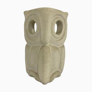 Stone Owl Desk Lamp by Albert Tormos, France, 1970s